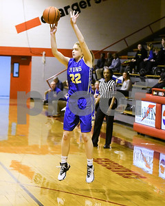 Lyons Township's Sidney Bugaieski makes a three point shot during their game Jan. 7 in Westchester against St. Joesph. David Toney for Shaw Media