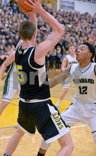 The Glenbard West boys basketball team traveled to La Grange to take on Lyons Township.