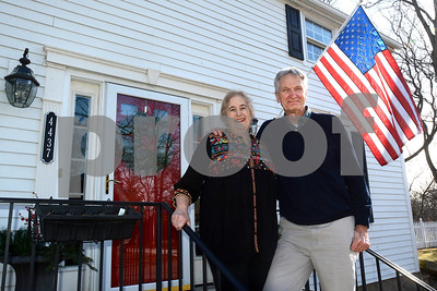 The house currently owned by Arthur and Judy Frigo in Downers Grove was originally built by the Downer family, and was one of the first structures built in the village.