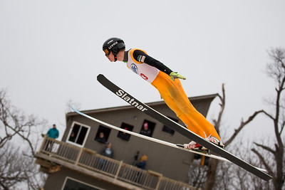 Whitney Rupp for Shaw Media Hunter Gibson of the Norge Ski Club competes in the 113th international Winter Tournament in Fox River Grove Sunday, Jan. 28.