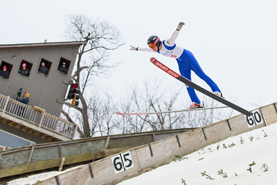 Whitney Rupp for Shaw Media Dean Decker of the Steamboat Springs Winter Sports Club competes in the 113th International Winter Tournament in Fox River Grove Sunday, Jan. 28.