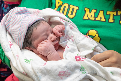 Itzli Maxwell Bennett, McHenry County's first newborn of 2019, arrived at 10:05 AM Tuesday, January 1, 2019 at Northwestern Medicine Huntley Hospital in Huntley. The healthy baby boy weighed 6lbs 13ozs. KKoontz – For Shaw Media