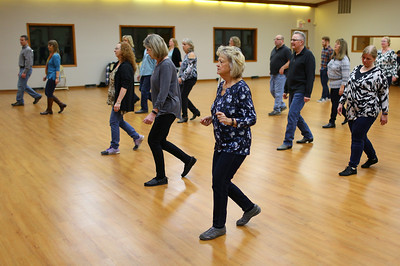 Crystal Lake Park District Country line dancing party
