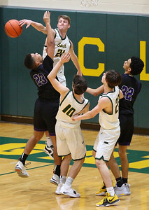 Crystal Lake South hosts Hampshire boys basketball