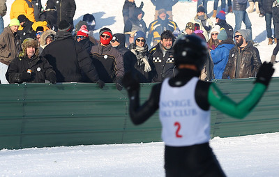Skiers brave the cold for the Norge Ski Club's International Winter Tournament 2019
