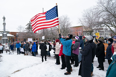 Women's March on the Woodstock Square