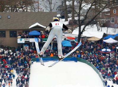 Shane Kocher of Norge Ski Club finished fourth in the 70 meter US Cup Male Class at the International Winter Ski Tournament 2020 held on Sunday, January 26, 2020 in Fox River Grove, IL.