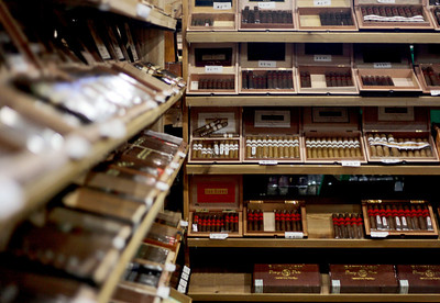 Sarah Nader - snader@shawmedia.com Kenny the King Tobacco in Lakemoor houses one of the largest cigar humidors in the state. The Food and Drug Administration has expressed intentions to regulate cigars under a 2009 law that gave them authority over the tobacco industry.