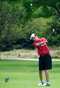 Josh Peckler - Jpeckler@shawmedia.com  during the McHenry County Junior Golf Association's Billy Vahldieck McHenry County Junior Amateur tournament at Boone Creek Golf Club in Bull Valley Tuesday, July 10, 2012.