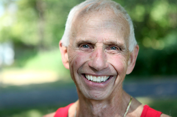 George Suter, 76, a member of the Fox River Trail Runners, will run in the 15th Annual Summer Sunset 5K race in Geneva July 25. It will be his 600th race since he began running at the age of 44 in 1979.