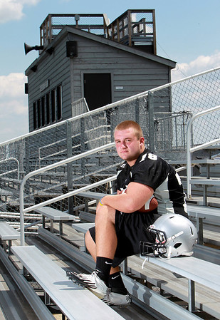 Kaneland's Alex Snyder will begin his junior season, and third year on varsity, on the offensive line for the Knights next week.