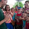 Dave DiNaso's Traveling World of Reptiles show makes an appearance at the Corn Boil in Sugar Grove Sunday.