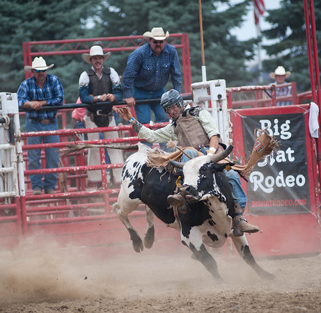 Adam Lagey, from Sycamore, competes during the Kane County Fair Rodeo Saturday afternoon in St. Charles.