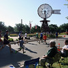 Jeff Krage – For Shaw Media<br /> The start of Saturday's Windmill Whirl 5K race in downtown Batavia.<br /> Batavia 7/13/13