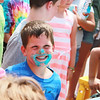 Thomas James, 5, of Batavia smiles after participating in the ice cream eating contest during the Windmill City Festival Sunday in Batavia.
