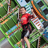 Erik Anderson - For the Kane County Chronicle<br /> Andrew Skifstad, 9, of St. Charles bounces in the air on a bungee jumping machine during the Kane County Fair and Festival in St. Charles on Saturday, July 20, 2013. The fair is held on July 17-21 in St. Charles.