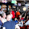 Crowds gather at Old Town Pub and Eatery in Geneva to watch the World Cup soccer game between United States and  Belgium Tuesday afternoon.