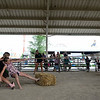 Baylee Modaff, on left, from Naperville, tries to keep the 4-H Ambassadors from winning in Tug-o-War during the Bard Yard Olympics at the Kane County Fair in St. Charles on Saturday.