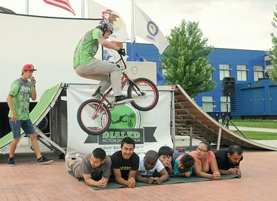 BMX bike demo in Cicero