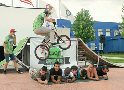 BMX bike demo in Cicero