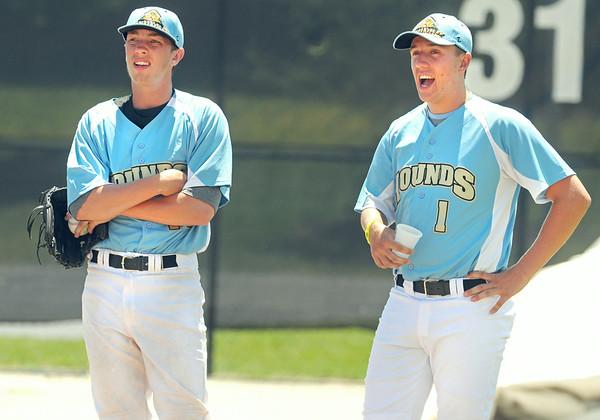 Hounds vs Admirals baseball