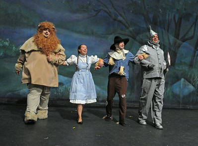Little Mountain Wizard of Oz rehearsal