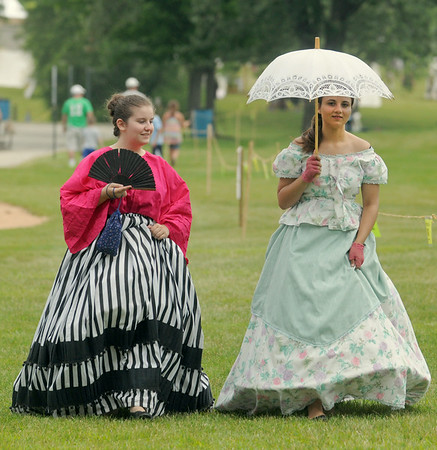 Sweet's Civil War reenactment