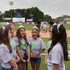 Students from Cambridge Lakes charter school sing the National Anthem at Fifth Third Bank Ballpark in Geneva, IL on Friday, June 19, 2015 (Sean King for Shaw Media)