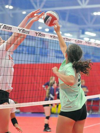 Glenbard West summer volleyball