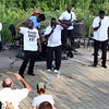 The Victory Travelers perform during a summer concert at RiverPark in Geneva July 9.