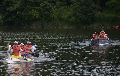 Glen Ellyn Cardboard Boat Regatta
