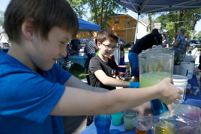 Lemonade Stand Fundraiser in Downers Grove