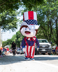 Area residents gathered for the Crystal Lake Independence Day parade Sunday, July 7, 2019 on Dole Avenue in Crystal Lake.  KKoontz - For Shaw Media