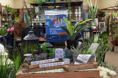Candace H. Johnson-For Shaw Media The floral section in Hannah's on Lake Street in downtown Antioch. (6/26/20)