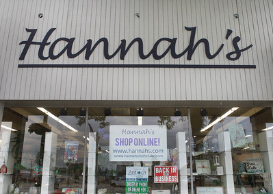Candace H. Johnson-For Shaw Media Hannah's, a retail specialty store, is located on Lake Street in downtown Antioch. (6/26/20)