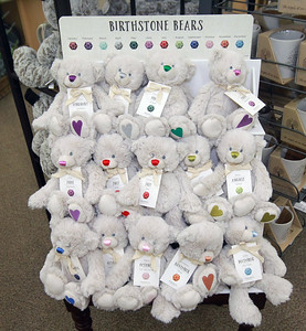 Candace H. Johnson-For Shaw Media Birthstone Bears are featured at Hannah's on Lake Street in downtown Antioch. (6/26/20)