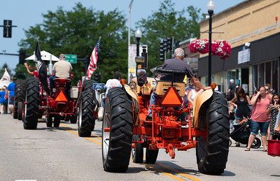 2021 Fiesta Days Parade in McHenry, IL on July 18, 2021.