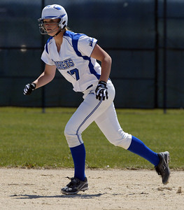 H. Rick Bamman - hbamman@shawmedia.com Burlington Central's Emily Bell had 3 hits in the Belvidere 3A Softball sectional.