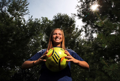 Sarah Nader - snader@shawmedia.com Cary-grove forward Korey Kronforst, 18, of Cary is the Northwest Herald Girls Soccer Player of the Year. Kronforst will be playing soccer at Minnesota State in the fall.