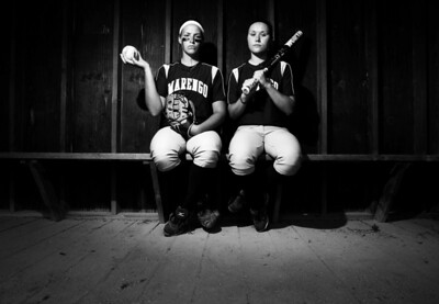 Sarah Nader - snader@shawmedia.com Marengo's Lindsay Melson (left) and Reed Karsten have been named the 2012 Northwest Herald's Softball Players of the Year.