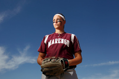 Sarah Nader - snader@shawmedia.com Marengo's Lindsay Melson has been named the 2012 Northwest Herald's Softball Players of the Year.