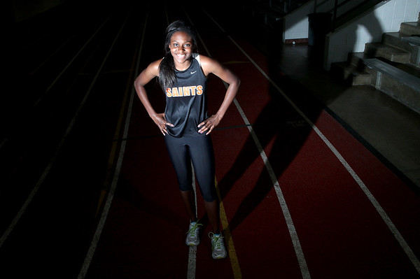 St. Charles East's Britney Williams is the Kane County Chronicle Girls Track and Field Athlete of the Year.