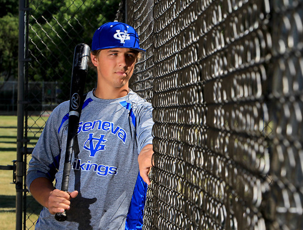 Geneva's Matt Williams is the Kane County Chronicle Baseball Player of the Year.