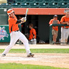 St. Charles East's Jack Dellostritto gets a hit during their IHSA 4A third place game against Neuqua Valley Saturday in Joliet. East won the game 6-4.