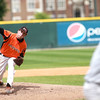 St. Charles East's Matt Starai pitches during their IHSA 4A third place game against Neuqua Valley Saturday in Joliet. East won the game 6-4.