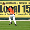 St. Charles East's Anthony Sciarrino makes a catch in the outfield during their IHSA 4A third place game against Neuqua Valley Saturday in Joliet. East won the game 6-4.