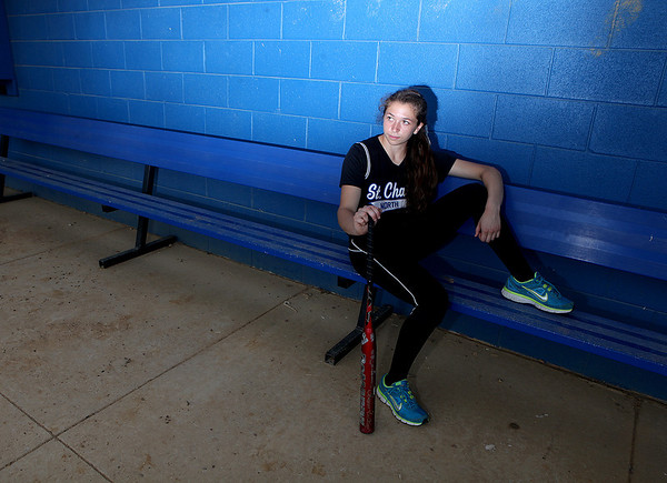 St. Charles North's Sabrina Rabin is the Kane County Chronicle Softball Player of the Year