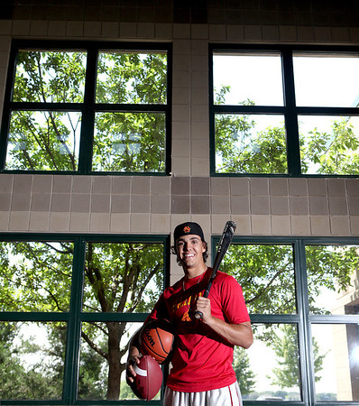 Batavia's Micah Coffey is the Kane County Chronicle Male Athlete of the Year.