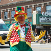 Combo The Clown at The 64th Annual Swedish Days Parade in Geneva, IL on Sunday, June 23, 2013 (Sean King for Shaw Media)