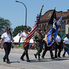 Geneva American Legion Post 75 march in The 64th Annual Swedish Days Parade at The 64th Annual Swedish Days Parade in Geneva, IL on Sunday, June 23, 2013 (Sean King for Shaw Media)